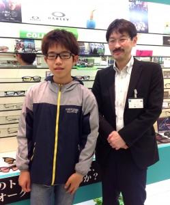 武蔵野市 眼鏡 オークリー クロスリンク