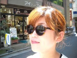女性おしゃれサングラス 江戸川区