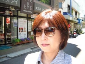 江戸川区 女性サングラス