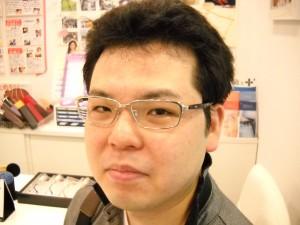 江戸川区 デュアル セルロイド メガネ