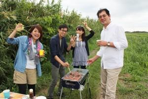 江戸川区 瑞江 釣り ハゼ BBQ