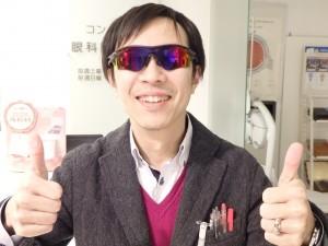 江戸川 スポーツサングラス オークリー