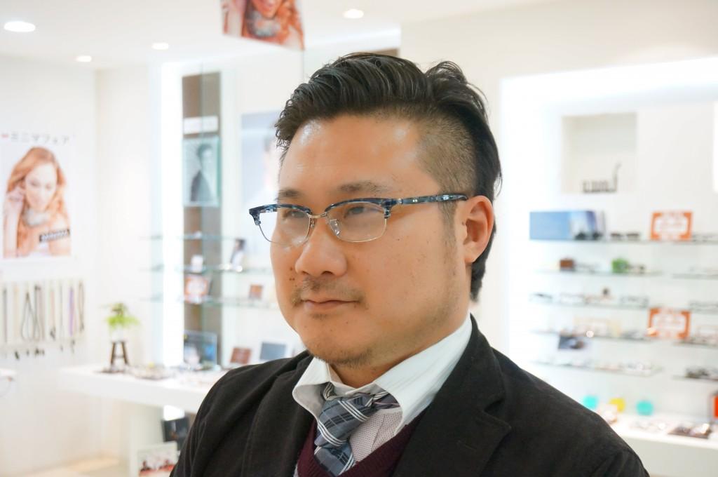 江戸川区 デュアル 鼻パッド なし メガネ ネオジン