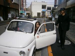 江戸川区 メガネ 車