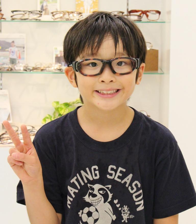 こどもメガネ 武蔵野市 レックスペックス スポーツメガネ