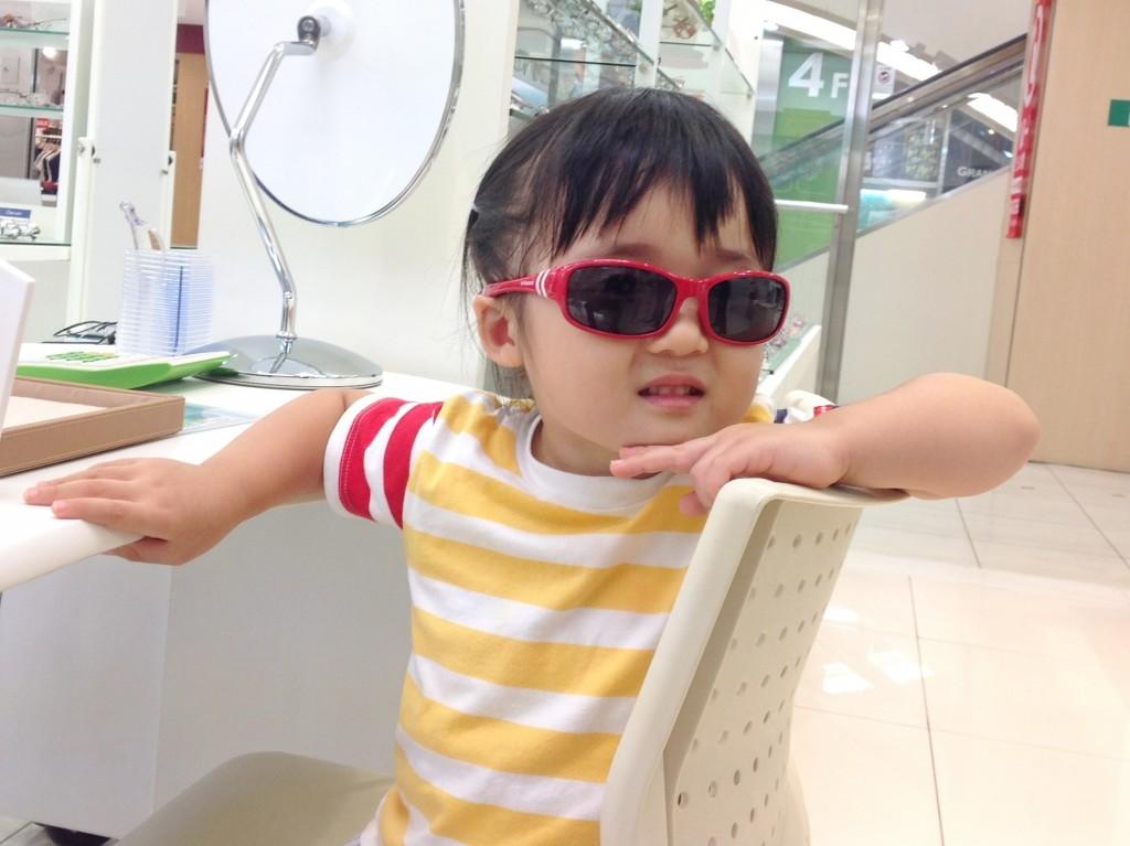 ポラロイド 武蔵野市 子ども用サングラス
