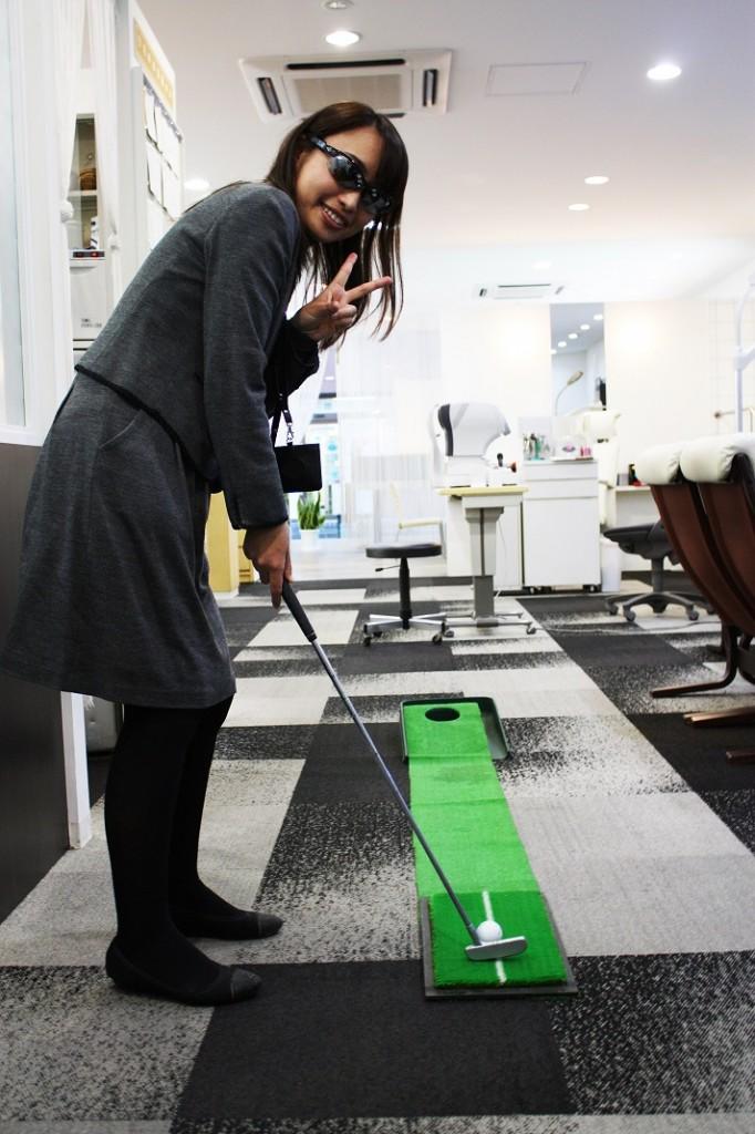 メガネ スポーツ ゴルフ