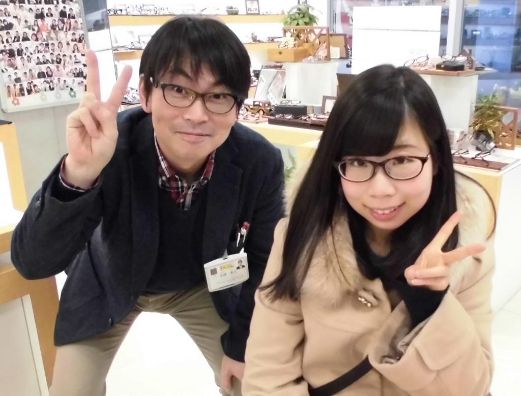 東京都 江戸川区 一之江 メガネ ジルスチュアート メガネ女子