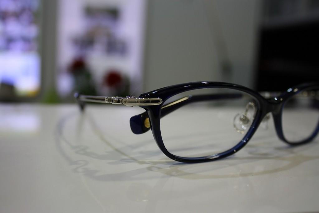 メガネ NPM-36 5002ダーククリスタルブルー × シルバー えどがわ