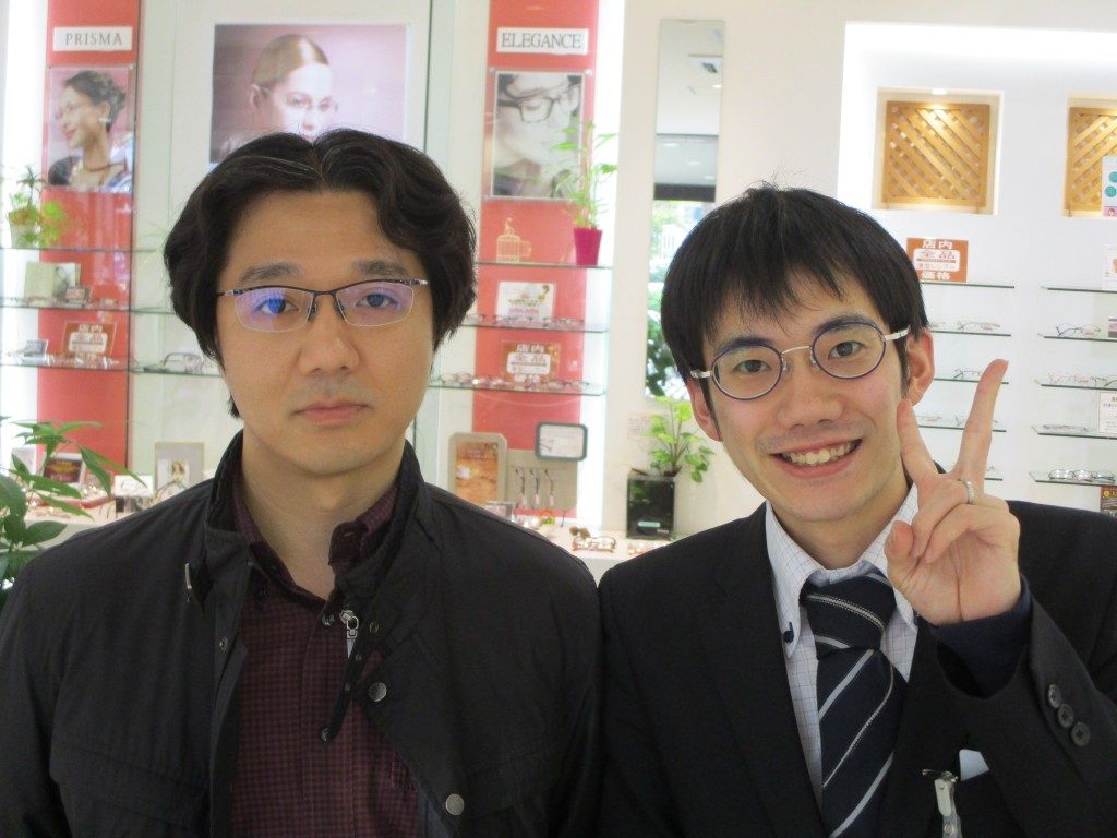 ジャポニスム JAPONISM JN-571 都内 メガネ 両眼視機能 プリズム検査