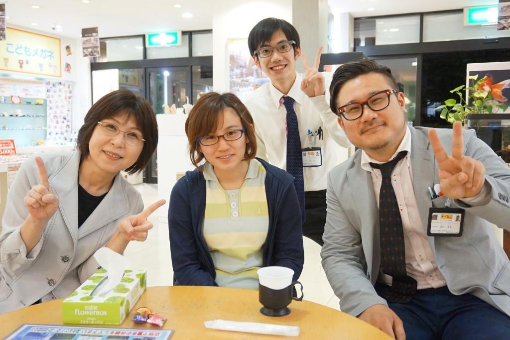 東京都 女性 メガネ 船堀 ハスキー ノイズ