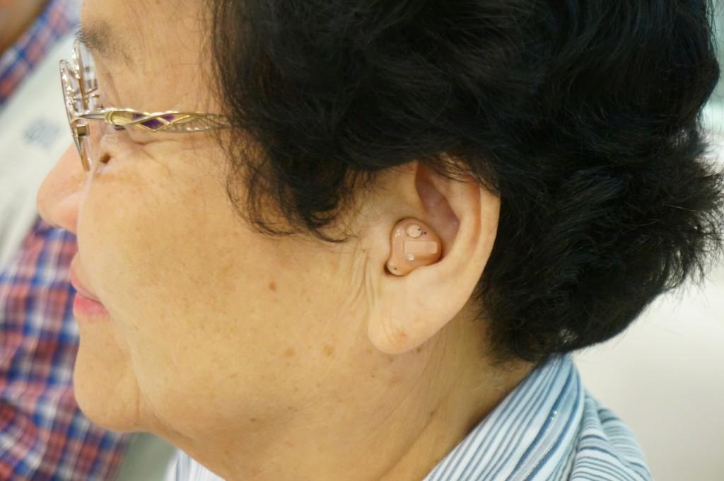 江戸川区 補聴器 リオネット 耳穴タイプ