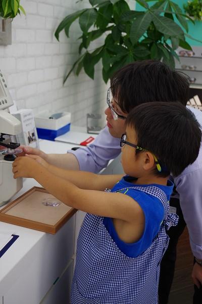 子供 眼鏡 専門店 江戸川区 東京 体験