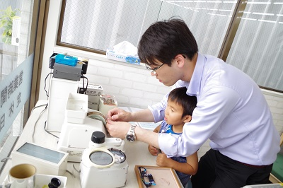 眼鏡 作成 体験 江戸川区 子供 専門店
