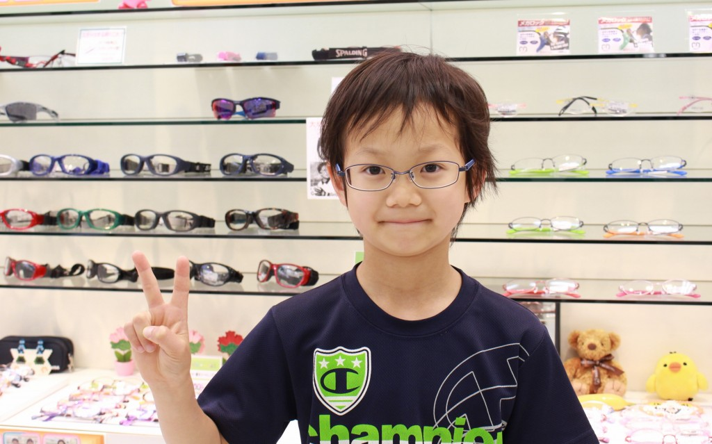 AMIPARIS アミパリ キッズ メガネ 子ども TS-5142 フェイスオン 武蔵境