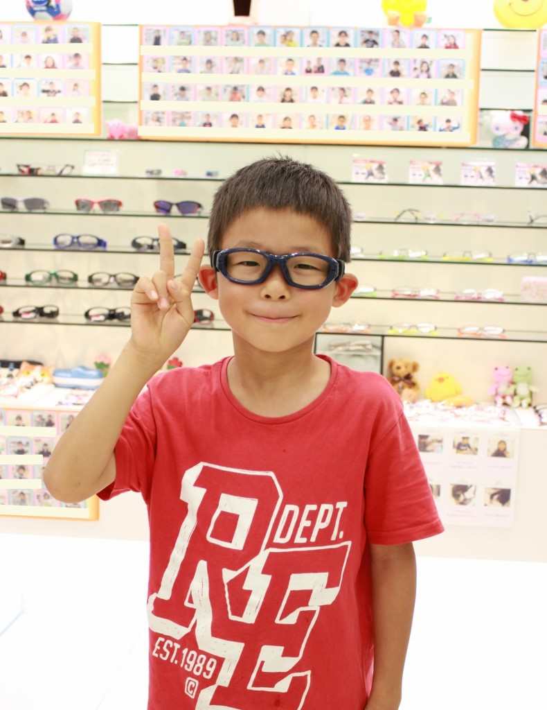 REC SPECS JPN-61 スポーツ用メガネ キッズ 子ども フェイスオン 武蔵境