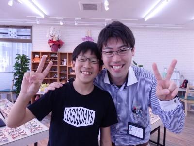 東京都 江戸川区 こども メガネ 中学生 男子 予備メガネ こどものくに