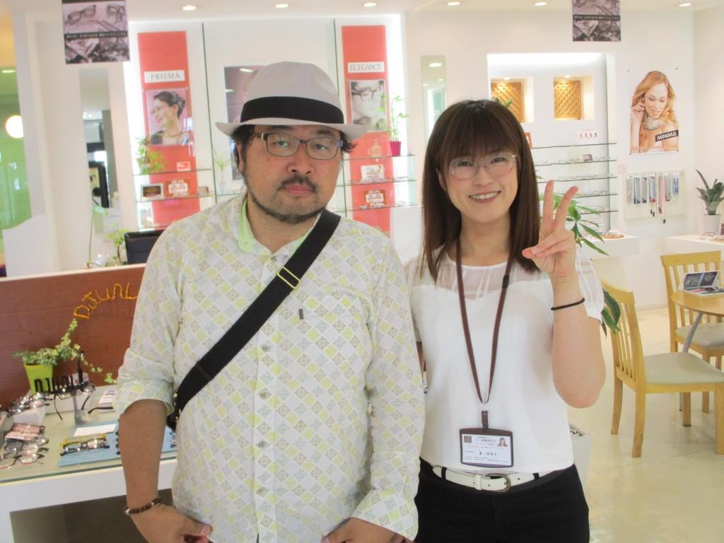 東京都内 ネオジン取り扱い店 NEOJIN 鼻あてなしメガネ 跡が残らないメガネ