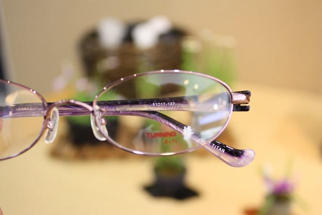 女子メガネ おしゃれメガネ ターニング