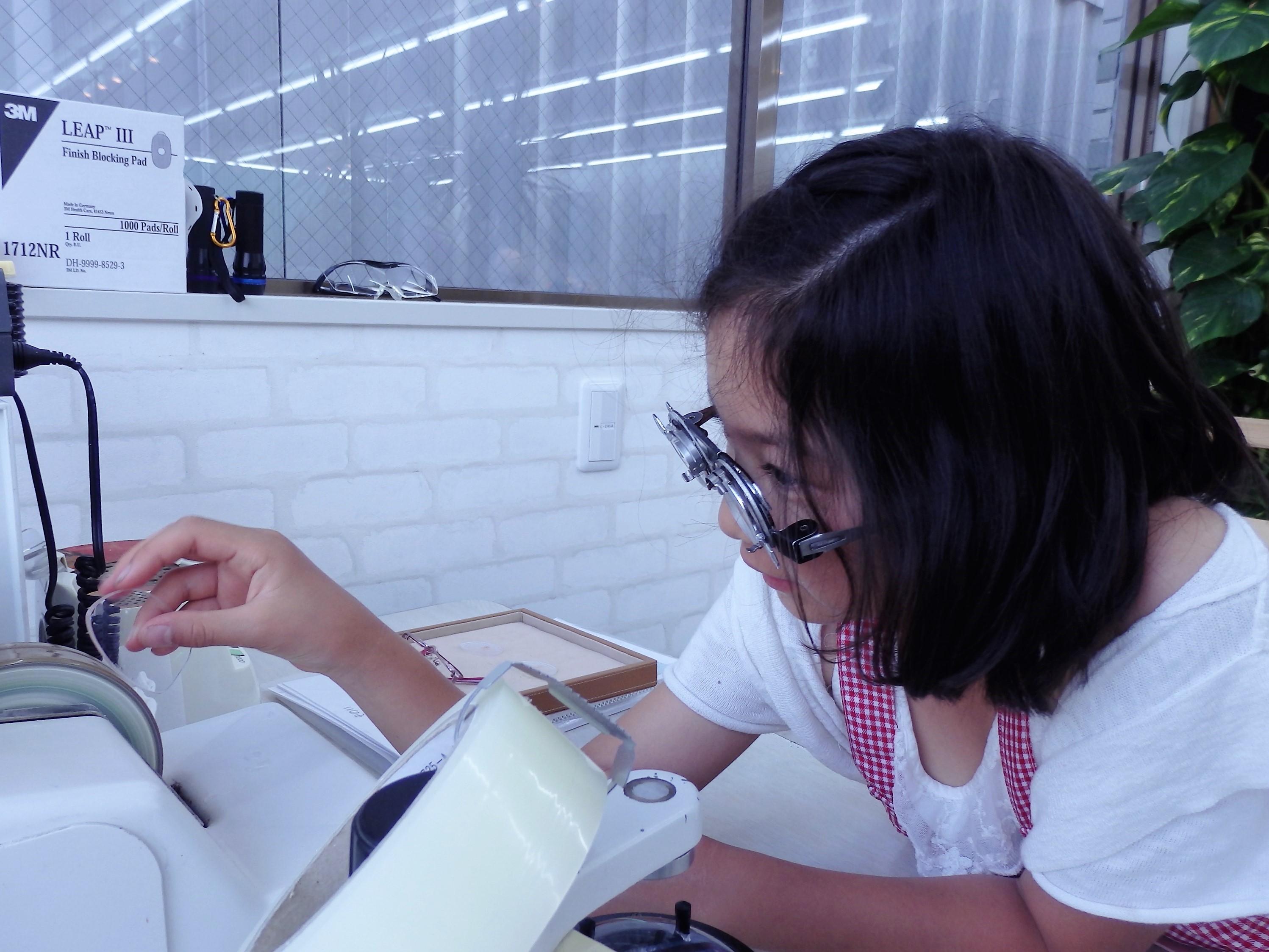 東京 都内 江戸川区 こどもメガネ 職場体験 保証付き