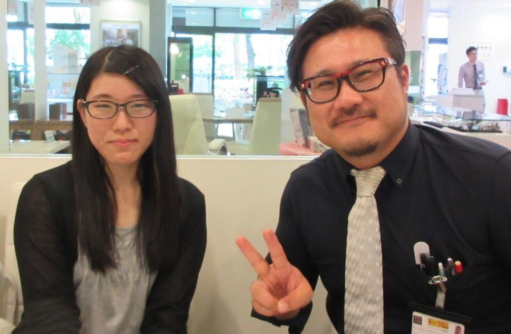 BCPC BP-3191 ベセペセ 東京 江戸川区 船堀 女子メガネ