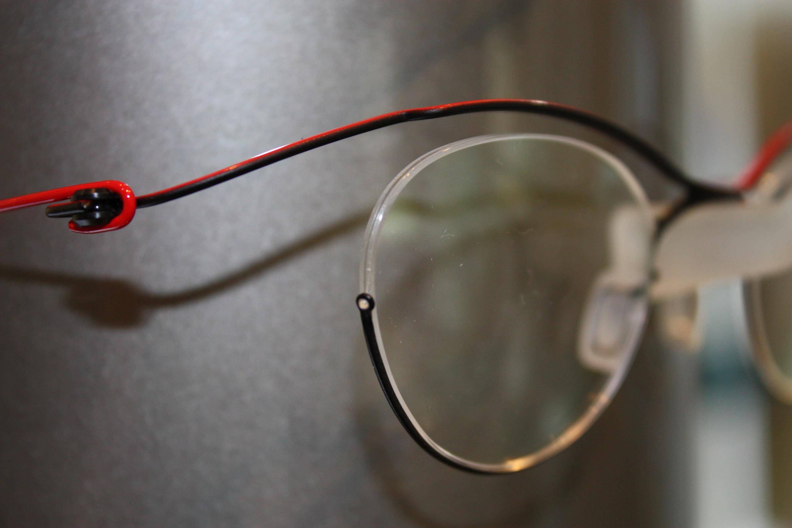 丸いメガネ」江戸川