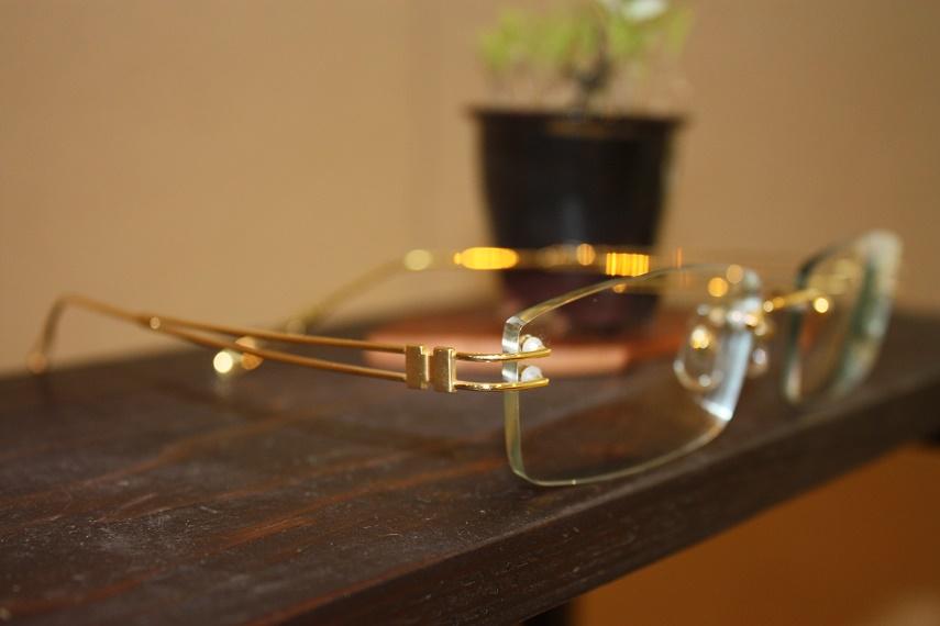 ゴールドメガネ フレーム