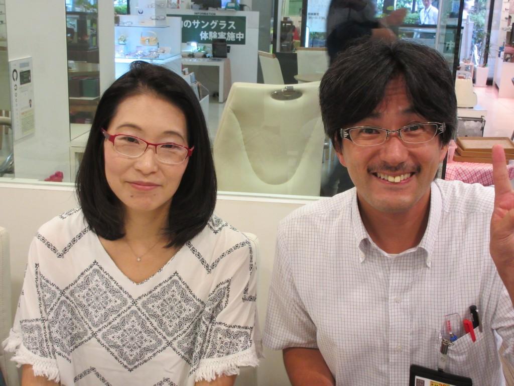 江戸川区 ネオジン 鼻に跡が付かないメガネ