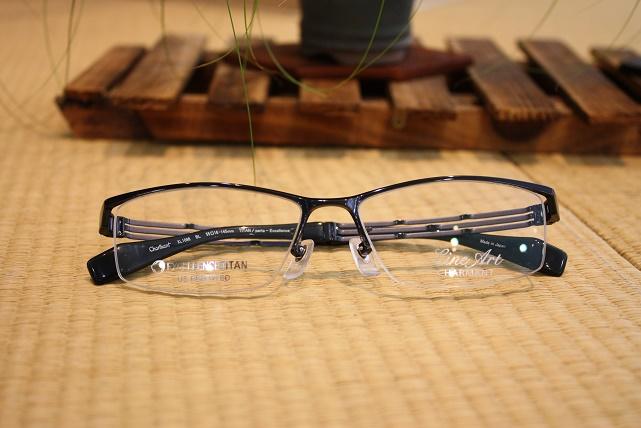 ラインアート かっこいい男子メガネ 軽い掛け心地が良い