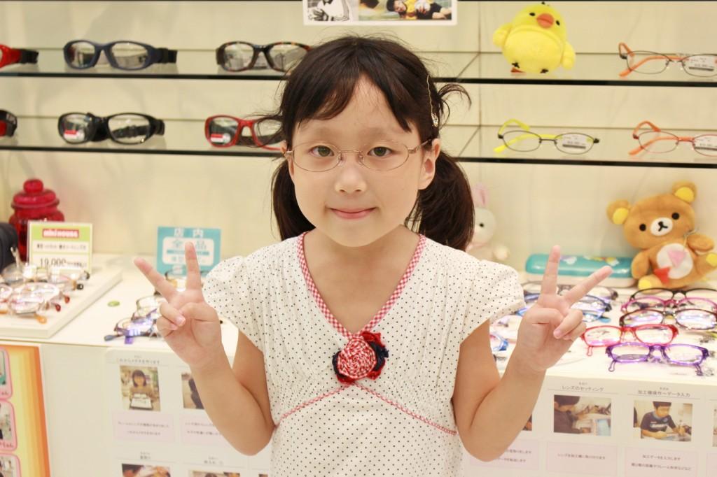 ジルスチュアートNY 04-0016 メガネ キッズ こども フェイスオン 武蔵境店