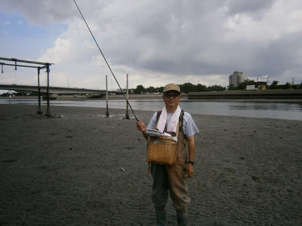 東京 釣りのメガネ ハゼ釣り