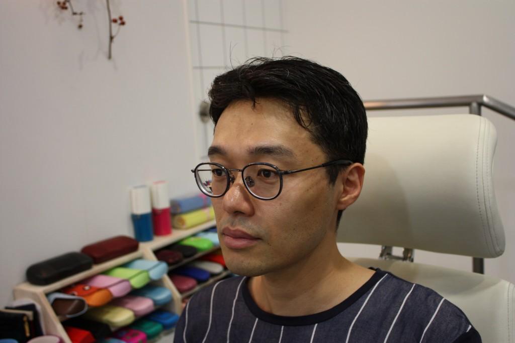 メガネ男子 カジュアルメガネ フレーム 江戸川区