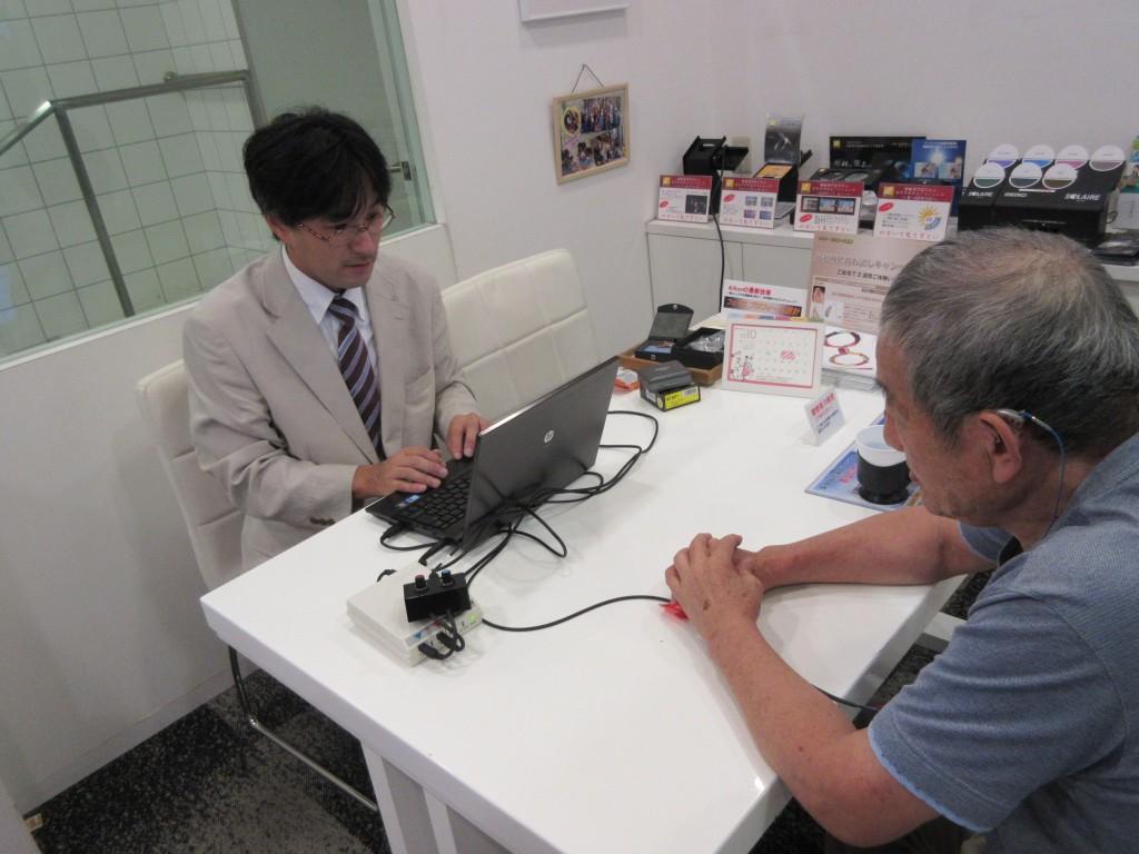 江戸川区 補聴器 聴力検査