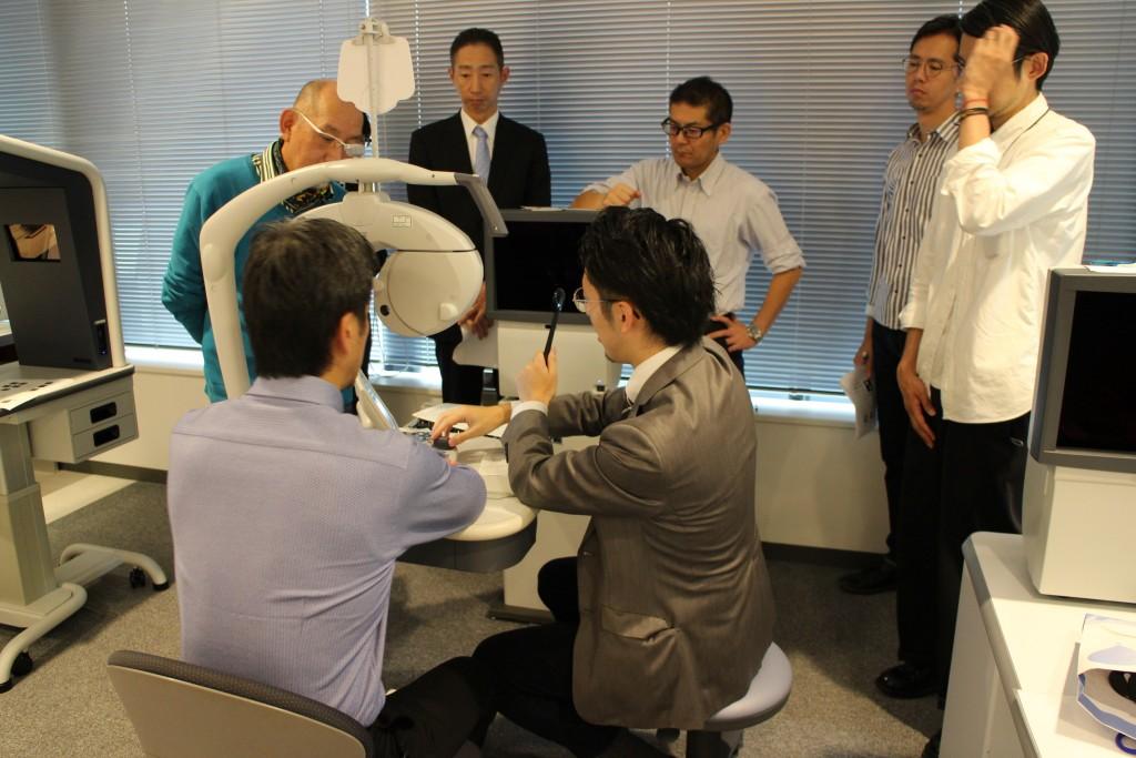 物がダブって見える 東京都内 江戸川区 船堀 両眼視機能 プリズム検査 予約