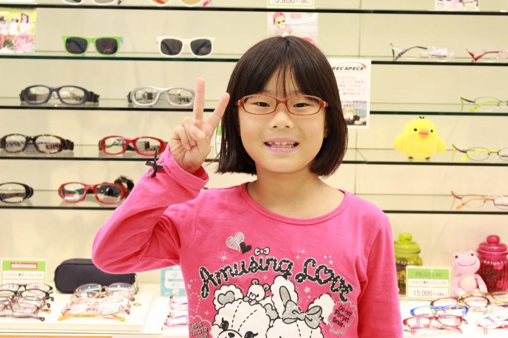 武蔵野市 メガネ フェイスオン 武蔵境 メゾピアノ MP-105 col.4 子供メガネ こどもメガネ