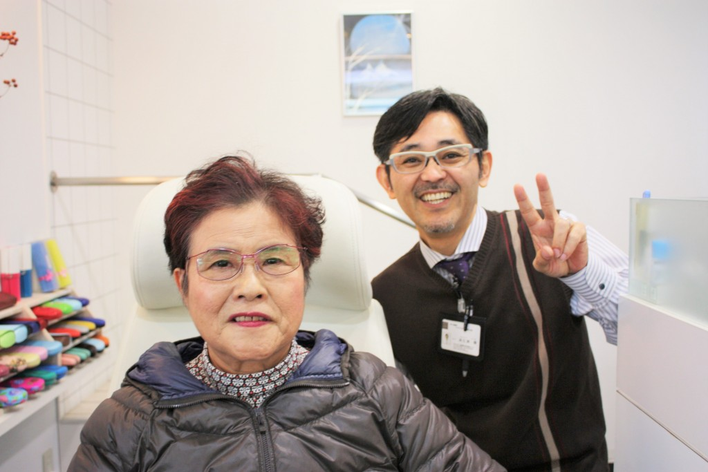 国産のメガネ Yコンセプト 軽いメガネ 東京都江戸川区