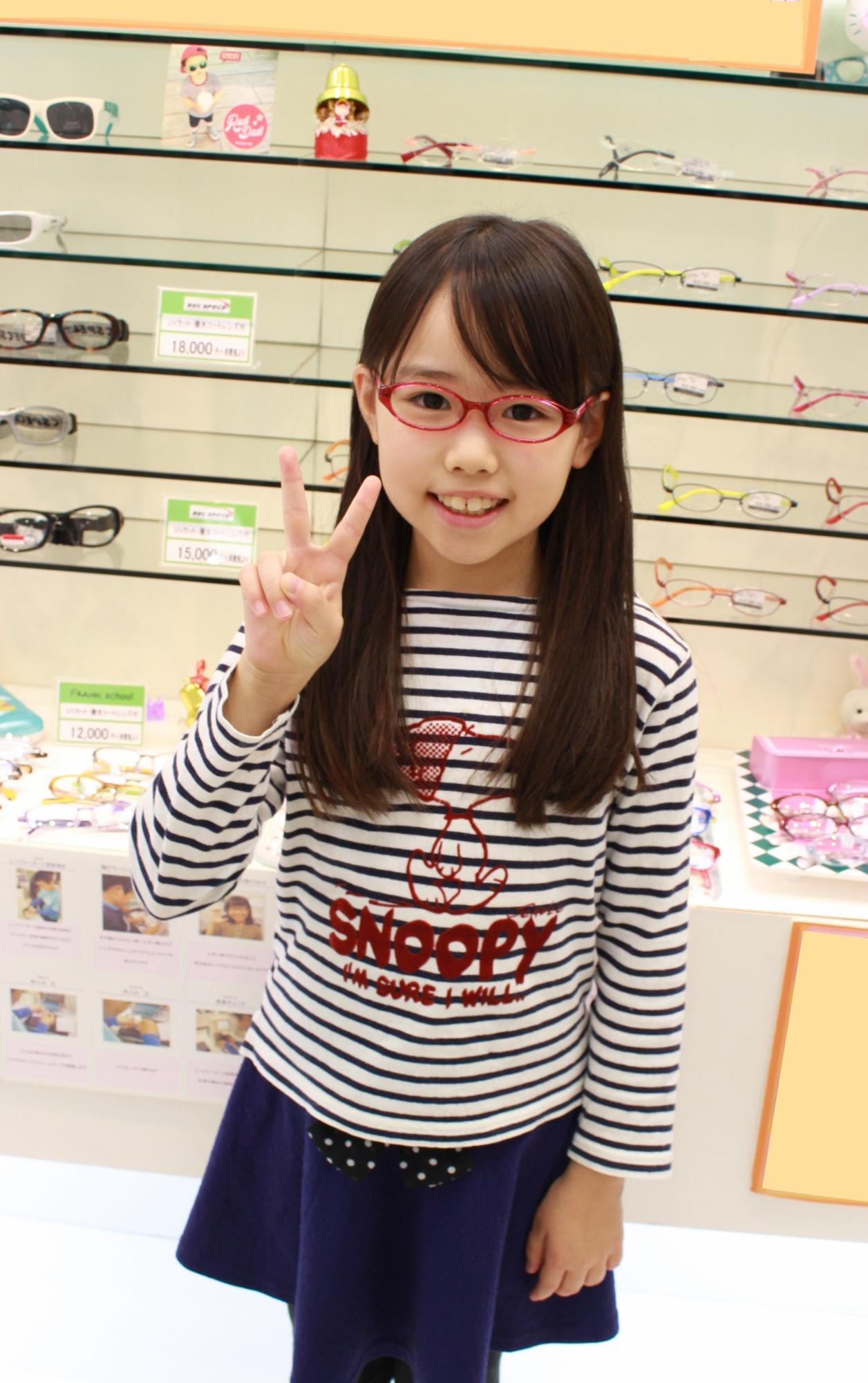 こどもメガネ 子供メガネ  メゾピアノ MP-102 武蔵野市 メガネ フェイスオン 武蔵境