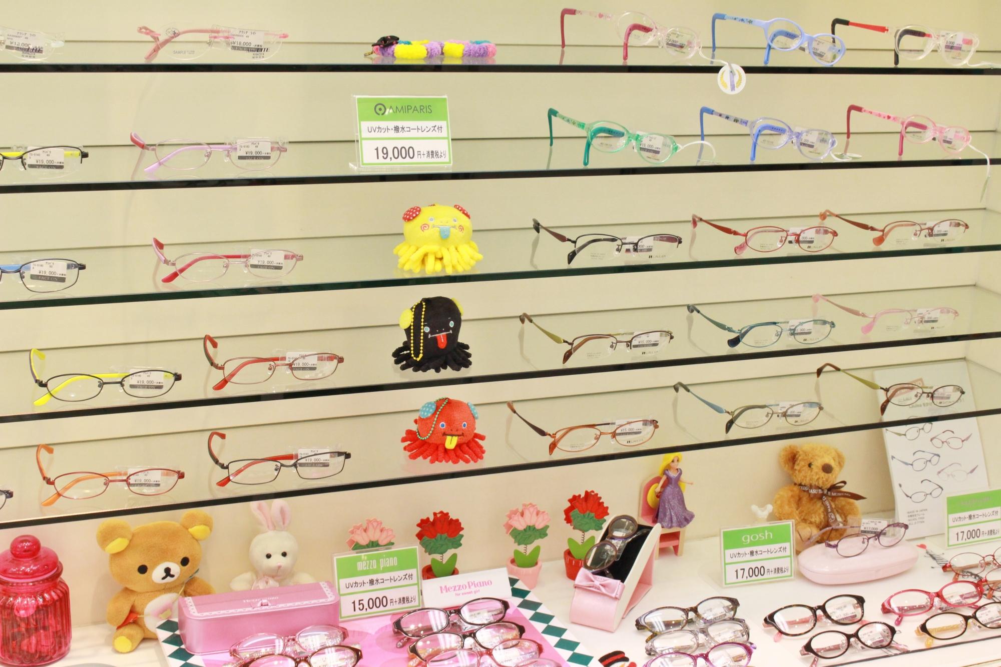 トマトグラッシーズ TKAC14 こどもメガネ 子供メガネ 武蔵野市 メガネ フェイスオン 武蔵境