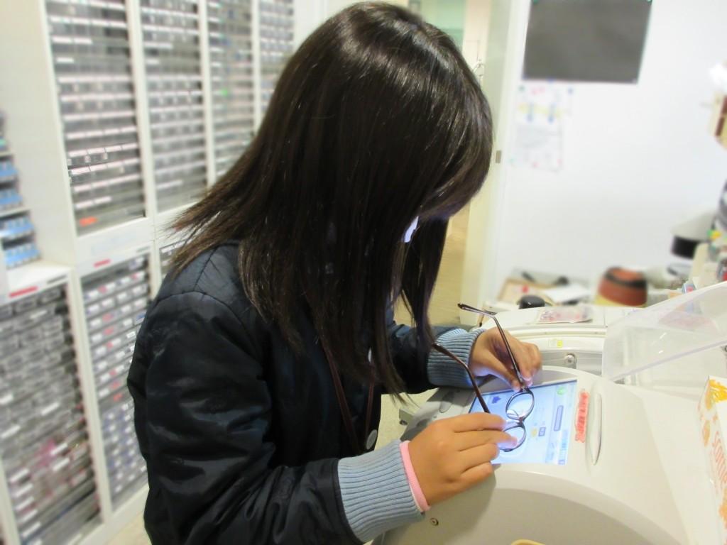 こども めがね 東京都 江戸川区 船堀 ジル 両眼視 プリズム 視力検査