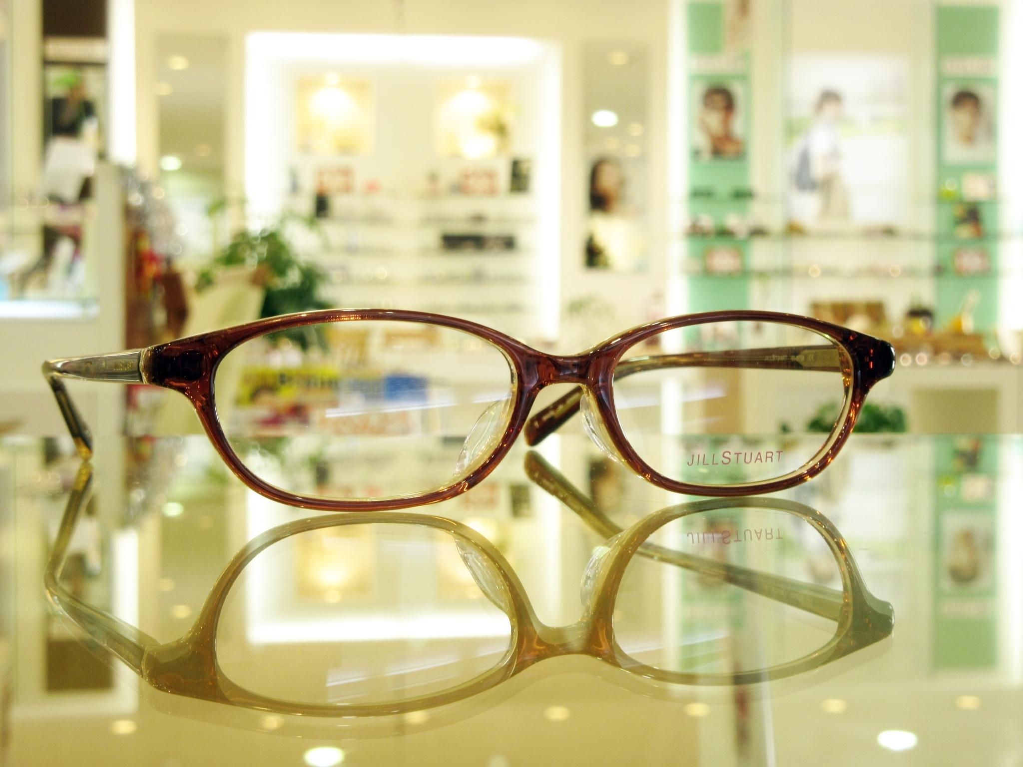 東京 都内 江戸川区 船堀 子供メガネ メガネ作り体験 かわいい ジルスチュアート