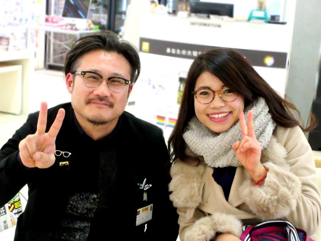 DJUAL デュアル OH-05 東京都 江戸川区 フナボリ メガネ セルロイド