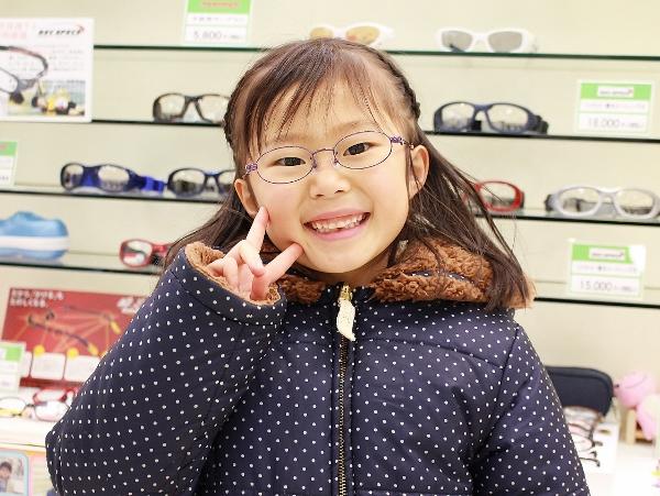 武蔵野市 眼鏡 口コミ こどもメガネ KIDS ジルスチュアートNY