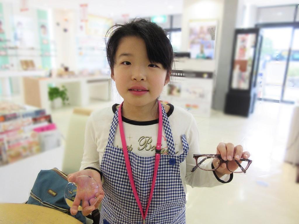 江戸川区 メガネ作り体験