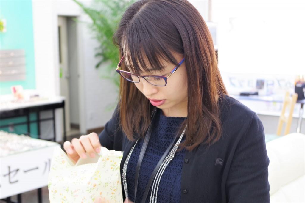 東京 江戸川区 メガネ屋 誕生日プレゼント