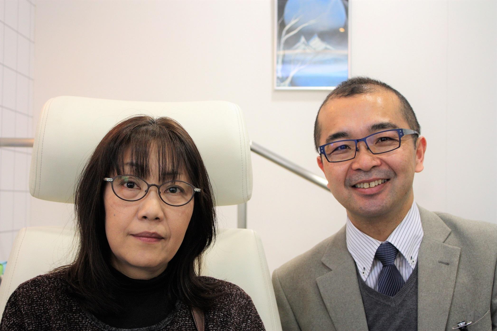 メガネ 女性用メガネ PCメガネ 江戸川区