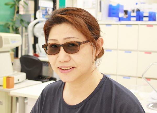 武蔵野市 メガネ 口コミ NEOJIN 鼻当てのないメガネ 偏光レンズ Kodak