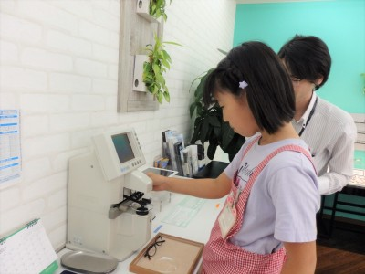 こども メガネ 子供 眼鏡 東京 都内 江戸川区 瑞江 専門店 作り体験 体験型