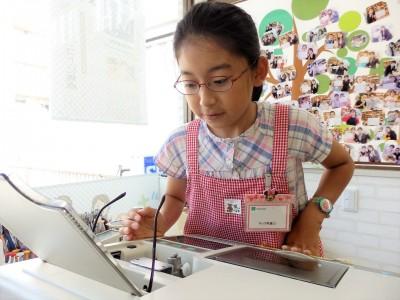 こども メガネ 子供 眼鏡 東京 都内 江戸川区 専門店 口コミ メガネ女子 アイクラウド EYEsCLOUD EC-1037 体験型