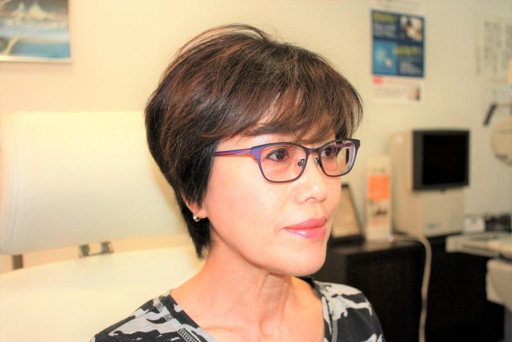 メガネ 女性のメガネ フレーム 江戸川