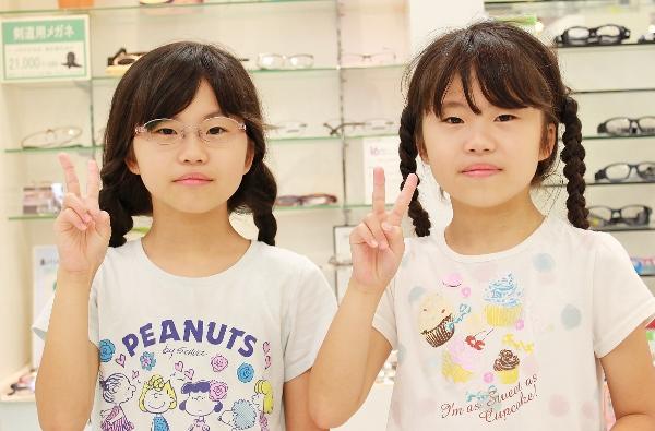 武蔵野市 メガネ 口コミ こどもメガネ KIDS 小学生 中学生 ジルスチュアート